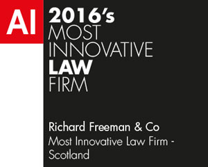 Best Lawyer firm in Scotland for Innovation 2016