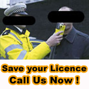 Failed Breathalyser test Drink Driving Breath Test